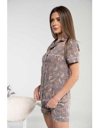 Жіноча піжама з цікавим принтом