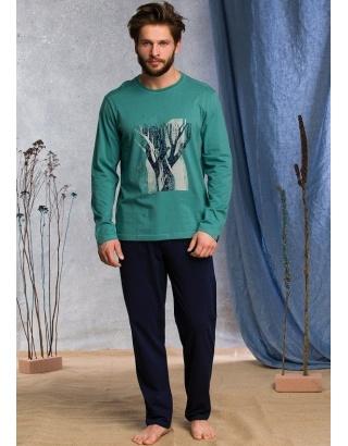 Чоловіча піжама KEY(штани та кофта)