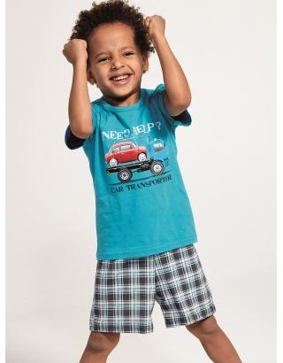 Літня піжама для хлопчиків Cornette (Car transporter)