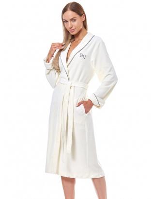 Жіночий довгий халат L&L - 9142