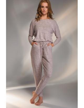 Домашній комплект штани та кофта (спущений рукав)