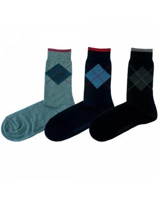 Шкарпетки чоловічі з високою посадкою MSC-026