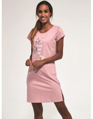 Бавовняна нічна сорочка для жінок (Come true)