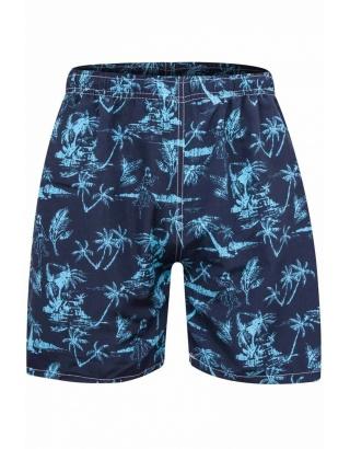 Пляжні шорти з пальмами