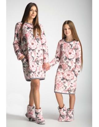 Тепла, домашня сорочка для дівчат Wiktoria
